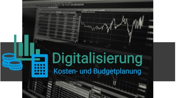 digitalisierung kosten- und budgetplanung
